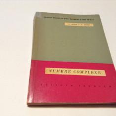 NUMERE COMPLEXE   C BORS,D BORS--RM3