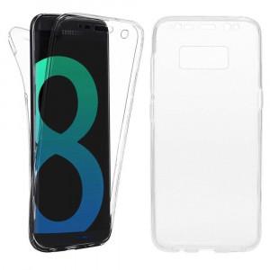 Husa silicon 360 fata+spate Samsung S8 plus