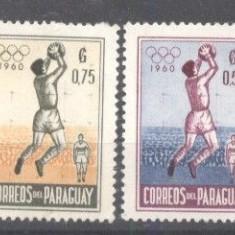 Paraguay 1960 Sport, Olympics, MNH A.140