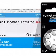 Baterii EverActive Implant HD 675 pentru proteze auditive 60 Baterii