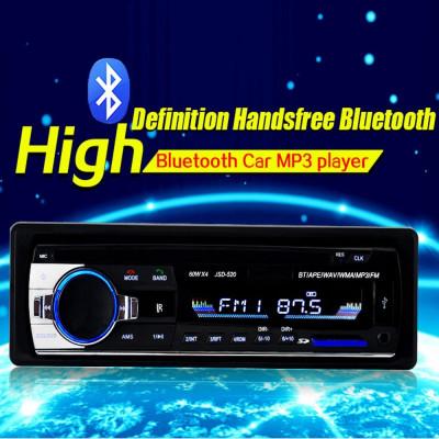 MP3 Player auto 4x60W cu Bluetooth, radio auto bluetooth JSD-520 1din foto