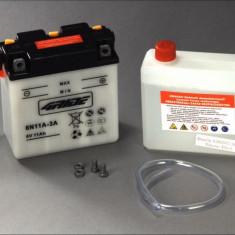 4 Ride baterie maxiscuter 6N11A-3A 122x62x132 6V 11Ah Zundapp