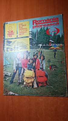 romania pitoreasca noiembrie 1979-art. si foto jud. harghita,neamt si valcea foto