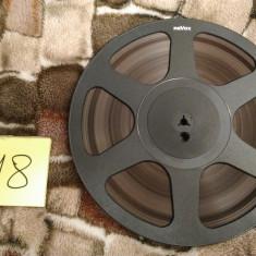 18.Banda Magnetofon REVOX rola policarb.26cm-Black (Akai,Teac,Tascam,Agfa,BASF)