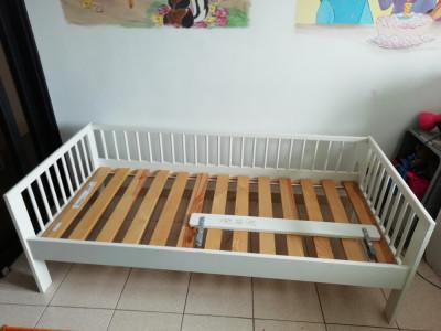 Cadru de pat copil 70x160 IKEA foto
