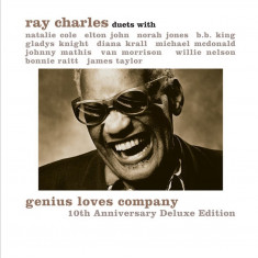 RAY CHARLES Genius Loves Company 10th Anniv. Ed. LP (2vinyl)