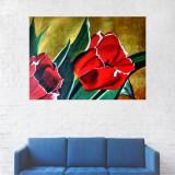 Tablou Canvas, Lalele rosii, Pictura reprodusa - 40 x 60 cm