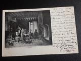 Carte postala circulata Franta 1901 '' Tableau Bredouille par Tessier ''