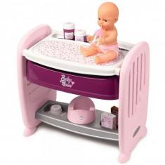 Jucarie Patut Co Sleeper pt papusi Smoby Baby Nurse