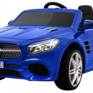 Masinuta electrica Mercedes-Benz SL500, albastru metalizat
