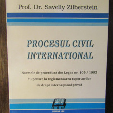 PROCESUL CIVIL INTERNATIONAL-SAVELLY ZILBERSTEIN
