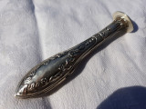 SIGILIU argint SPLENDID FRANTA 1900 art nouveau DE COLECTIE patina MINUNATA