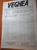 ziarul vechea anul 1,nr. 1 din 12 martie 1990-prima aparitie a ziarului