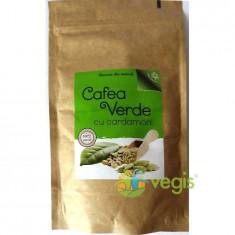 Cafea Verde Macinata Cu Cardamon 150gr