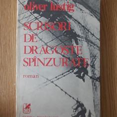 SCRISORI DE DRAGOSTE SPANZURATE- OLIVER LUSTIG