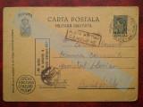 C.P.circ. CENZURAT ,Posta Militara Cenzurat-3 stampile