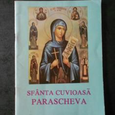 SFANTA CUVIOASA PARASCHEVA - OCROTIREA MOLDOVEI
