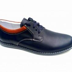 Pantofi casual - sport barbati din piele naturala 881MBL