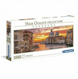 Puzzle panorama High Quality - The Grand Canal - Venice, 1000 piese, Clementoni