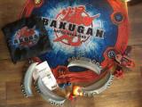 Joc Bakugan Battle Brawlers cu figurine, calculator, cartonase etc.