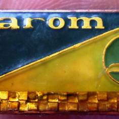 I.536 INSIGNA ROMANIA AVIATIE TAROM L23mm