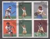Paraguay 1986 Sport, Tennis, 2 strip, used AF.010