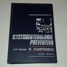 D.DUMITRASCU - GASTROENTEROLOGIE PREVENTIVA