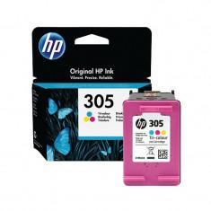 Cartus original inkjet HP 305 Tri-color 3YM60AE
