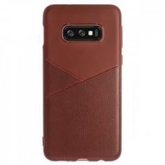 Husa Silicon Slim Samsung Galaxy S10 E Maro Arm