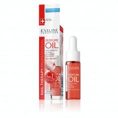 Ulei parfumat Eveline Cosmetics PERFUME OIL RED DELIGHT pentru unghii si cuticule