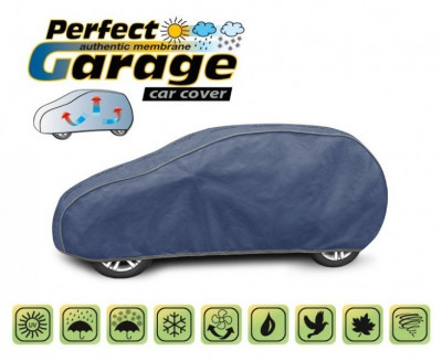 Prelata auto, husa exterioara Smart Forfour impermeabila in exterior anti-zgariere in interior lungime 355-380cm, M1 Hatchback model Perfect Garage foto