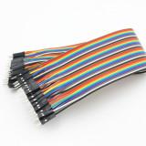 10 cabluri (30cm) dupont TATA-TATA (male-male) Arduino cablu breadboard (v.302)