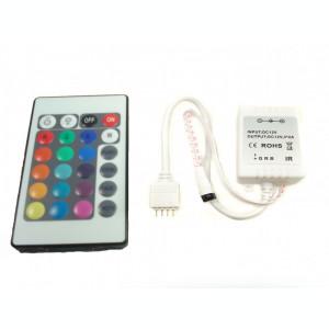 Kit complet banda RGB 150 SMD telecomanda 24 taste ManiaLight