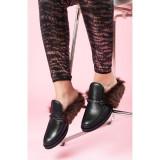Papuci Aisha - Piele Box, 33 - 42