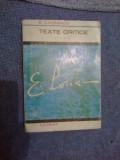 z1 TEXTE CRITICE - E. LOVINESCU