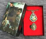 Set Cadou Cutie HARRY POTTER  Pandantiv + Inel  - Hogwarts
