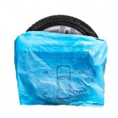 Set 4 saci depozitare anvelope cu inscriptie parte de montare