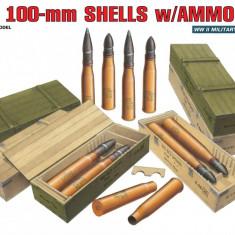 1:35 Soviet 100-mm Shells w/ Ammo Boxes 1:35