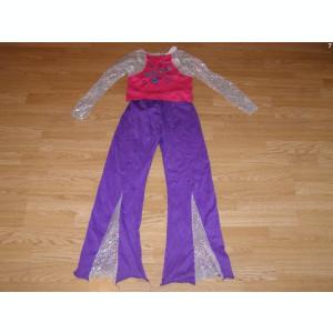costum carnaval serbare hannah montana pentru copii de 9-10 ani