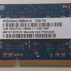 Memorie Laptop Elixir 4GB DDR3 PC3L-12800S 1600Mhz 1.35V