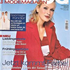 Burda revista de moda insert in limba romana 58 tipare 2/2005  (croitorie)