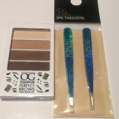 Set pensete + Kit pentru sprancene Outdoor Girl Perfect Brows