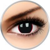 Hell Raiser - lentile de contact colorate negre trimestriale - 90 purtari (2 lentile/cutie)