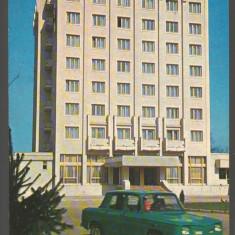 CPI B14101 CARTE POSTALA - ROMAN. hotel ROMAN, DACIA 1100