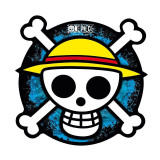 Mouse pad ONE PIECE SKULL - in shape