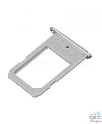 Suport Sim Samsung Galaxy S6 edge+ SM G928T Alb foto
