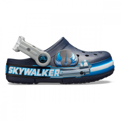 Saboți Copii casual Crocs Crocs Fun Lab Luke Skywalker Lights Clog foto