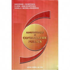 Administratie si contabilitate publica