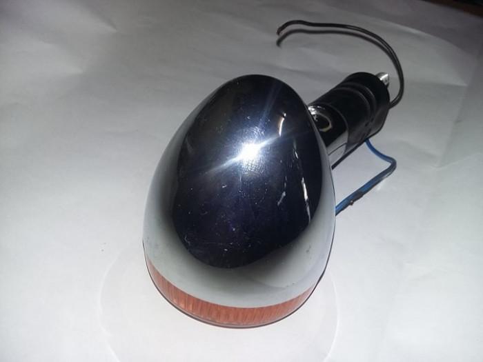 Semnalizator crom Motocicleta IJ Planeta Jupiter Simson MZ Jawa Aprilia,T.GRATUI