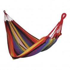Hamac textil, 200 x 100 x 1 cm, policoton, Multicolor